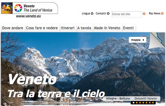 Visita il sito di Promozione turistica del Veneto